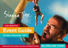 Our October to December event guide is out now. Have a look and get booking some great events for the coming months! Event Guide, National Theatre, Irish Traditions, Got Books, The Fosters, Folk, December, Events, Culture