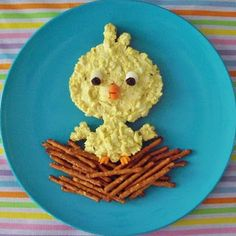 Egg Salad Chick Sandwich Recipe (Hungry Happenings)