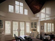 10 Noble Cool Ideas: Blinds For Windows Contemporary diy blinds ideas.Bathroom Blinds Wallpapers blinds for windows contemporary.Ikea Blinds No Sew. Home, Custom Shutters, Living Room Blinds, Blinds Design, Blinds, Window Coverings, Window Styles, Blinds For Windows, Diy Blinds