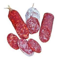 To the salami - Wurstwaren - Wurst Bratwurst Sausage, Chorizo Sausage, Sausages, Salami Recipes, Meat Recipes, German Sausage, Meat Lovers, Smoking Meat, Charcuterie