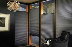 Zonal Honeycomb Blinds