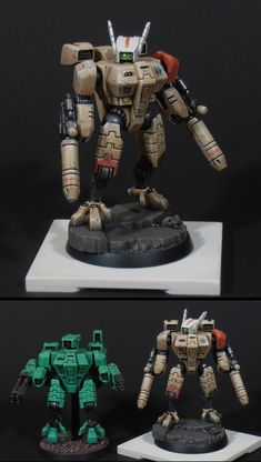 The Internet's largest gallery of painted miniatures, with a large repository of how-to articles on miniature painting Tau Warhammer, Warhammer Fantasy, Warhammer Figuren, Tau Battlesuit, Tau Army, Tau Empire, Funky Design, Fantasy Miniatures, Mini Paintings