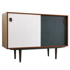 Danish Modern Teak Sideboard | From a unique collection of antique and modern sideboards at http://www.1stdibs.com/furniture/storage-case-pieces/sideboards/