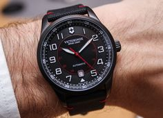 Victorinox Airboss Black Edition Watches Hands-On