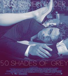 Fan Made Art.  Ian Somerhalder as Christian Grey in 50 Shades of Grey.  #fiftyshades #christiangrey #50shades