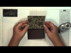Gift card holder & matching envelope with Dawn