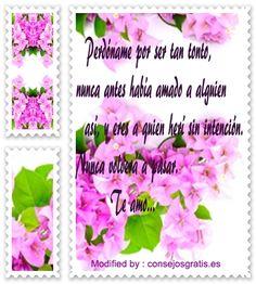 mensajes para pedir perdòn a mi enamorada,buscar bonitas palabras para pedir perdòn a mi novia:http://www.consejosgratis.es/palabras-para-pedir-perdon-a-mi-novia/