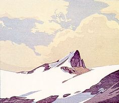 Walter J. Phillips (1884 - 1963) Mount Nicholas, 1940