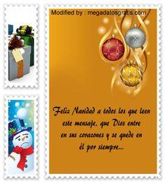carta para enviar en Navidad,descargar mensajes para enviar en Navidad: http://www.megadatosgratis.com/emotivos-mensajes-de-navidad/