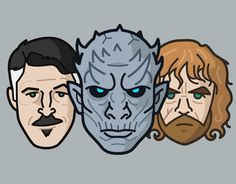 """Check out this @Behance project: """"Characters Series Vol 02 - Game of Thrones"""" https://www.behance.net/gallery/59153867/Characters-Series-Vol-02-Game-of-Thrones"""