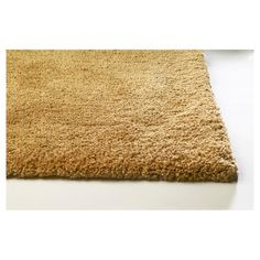Gold Solid Shag or Flokati Area Rug - (5' x 7') - Kas Rugs