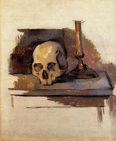 Crâne - (Paul Cezanne)