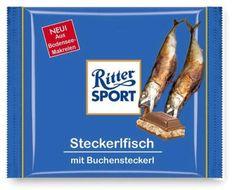 Die bayerische Schokoladensorte - yum, I always love to eat my Steckerlfisch with chocolate, how convenient!