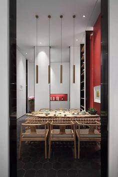Public SpacesChinese StyleDining RoomsInterior DesignChinese
