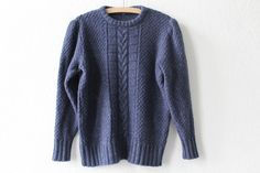 Vintage Jumpers – vintage knitted sweater size M – a unique product by VintageWarenhaus on DaWanda