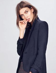 Karlie Kloss for Mango F/W 2012 _