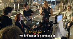 "RDJ knows why, too. (Behind the scenes, ""Avengers: Age of Ultron"") - Visit now… - visit to grab an unforgettable cool 3D Super Hero T-Shir"