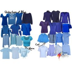 How to Pick the Undertone of Blue Like an Expert - Inside Out Style Cool Winter Color Palette, Cool Summer Palette, Winter Colors, Spring Colors, Warm Spring, Warm Autumn, Deep Winter, Clear Winter, Light Spring