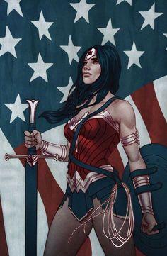Wonder Woman by Jenny Frisson