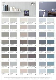 LADY Våra vackraste kulörer Färgkarta by Jotun Sverige AB - issuu Paint Colors For Living Room, Paint Colors For Home, Room Colors, Wall Colors, House Colors, Sico, Jotun Lady, Ideas Hogar, Interior Paint Colors