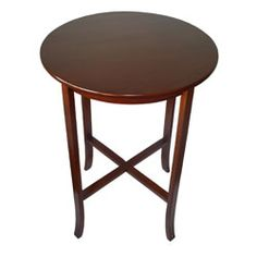 Classic York Cherry Pub Table $148.99 Bar Furniture, Furniture Deals, Cherry Finish, Dining Room Bar, Best Dining, Coffee Cafe, Round Top, Hardwood, Home And Garden