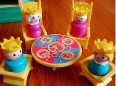 They lived in the Fisher-Price castle