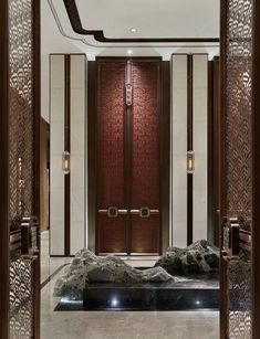Nice 99 Best Ideas For Apartment Lobby Interior Design. Lobby Interior, Luxury Interior, Interior Design, Lobby Design, Design Hotel, Modern Chinese Interior, Hotel Interiors, Hospitality Design, Door Design