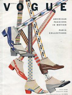 Vogue 1952 Cover