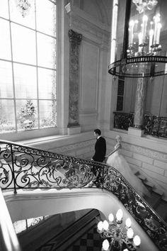 Destination Wedding in Paris at the Shangri-La Hotel - Snippet & Ink