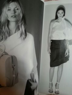 Givenchy in Vogue Givenchy, Monochrome, Leather Skirt, Vogue, Normcore, Skirts, Style, Fashion, Moda