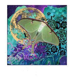 Luna by kathughett on Polyvore featuring art