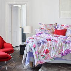 Schlossberg AMALIA bed linen, Bettwäsche on pacificohome. Living Colors, Linen Bedding, Bed Linen, Cool Beds, Comforters, Blanket, Design, Furniture, Home Decor