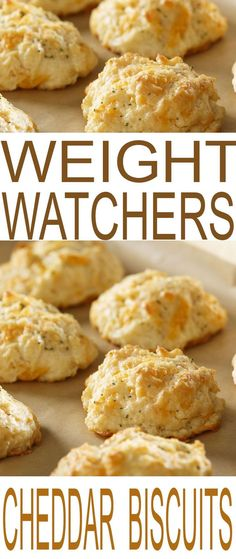 Cheddar Biscuits Weight Watchers Recipes to help you stay on track with your diet plan, New Year's resolutions, and weight loss goals. Modify to the 2 ingred dough add ff cheddar , parsley and garlic Plats Weight Watchers, Weight Watchers Smart Points, Weight Watcher Dinners, Weight Watchers Recipes With Smartpoints, Weight Watcher Recipes, Weight Watchers Sides, Weight Watchers Cake, Weight Watchers Muffins, Weight Watchers Breakfast