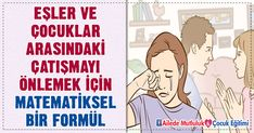 Eşler ve çocuklar arasındaki çatışmayı önlemek için matematiksel bir formül Richard Feynman, Kindergarten, Family Guy, Guys, Fictional Characters, Boyfriends, Fantasy Characters, Boys, Preschool