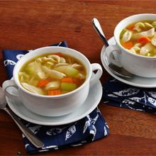 Chicken Noodle Soup From Scratch - The best things are simple. This chicken noodle soup from scratch recipe brings good food and good feelings to your home.