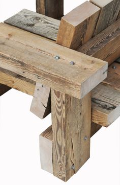 """New """"BEAMS"""" collection by Piet Hein Eek"""