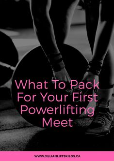 Are you prepared for your first powerlifting meet? Are you competing at a new gym or outside of one? Make sure your gym bag is packed with these essentials! Weight Loss Diet Plan, Weight Loss Plans, Healthy Weight Loss, Weight Lifting, Weight Loss Tips, Power Lifting, Weight Training, Powerlifting Women, Weightlifting Women