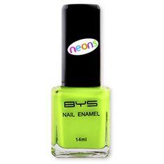BYS N198 Nail Polish Neons Fatal Attraction Neon Nail Polish, Neon Nails, My Nails, Fatal Attraction, Bys, Usb Flash Drive, Enamel, Cosmetics, Vitreous Enamel