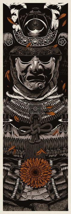 A Warrior's Dreams Part I by Anthony Petrie, via Behance..