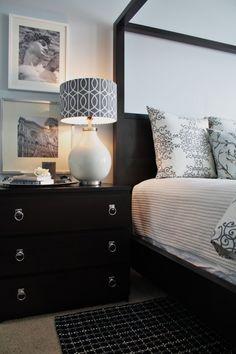 Beautiful hardware elevates the IKEA Malm dresser. | mod-home.org