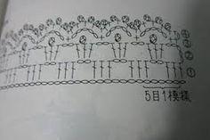 Resultado de imagen de puntillas de crochet para rebecas