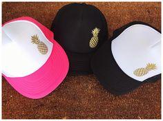 cbecf51f4ff Items similar to Pineapple Trucker Hat
