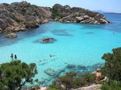 La Maddalena, Sardinia, Italy! Its more beautiful in person! I loved living on this island for 3 years!