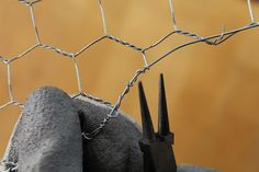 Those cut ends are sharp; wire them down for safety and aesthetics.