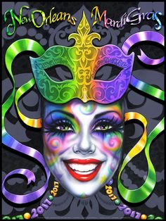 New Orleans Mardi Gras Poster Gallery by Andrea Mistretta - New Orleans Mardi G. - New Orleans Mardi Gras Poster Gallery by Andrea Mistretta – New Orleans Mardi Gras Poster Galler - Mardi Gras Food, Mardi Gras Carnival, Mardi Gras Party, Mardi Gras Centerpieces, Mardi Gras Decorations, Mardi Gras Outfits, Mardi Gras Costumes, Carnival Posters, Carnival Ideas