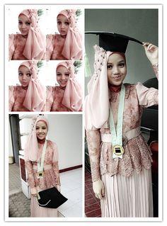 My hijab on GRADUATION day. Love it. ❤