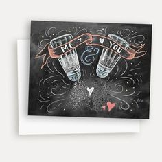 Me   You (S P) - A2 Note Card
