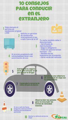 Consejos para conducir en el extranjero #NoticiasTorcal