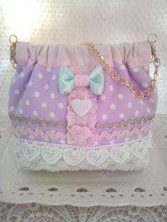 super cute fairy kei bag- neat sewing idea