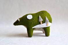Hey, ho trovato questa fantastica inserzione di Etsy su http://www.etsy.com/listing/169296125/evergreen-spirit-bear